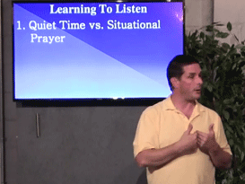 06/20/15 - Learning To Listen Cont. – Prayer pt9